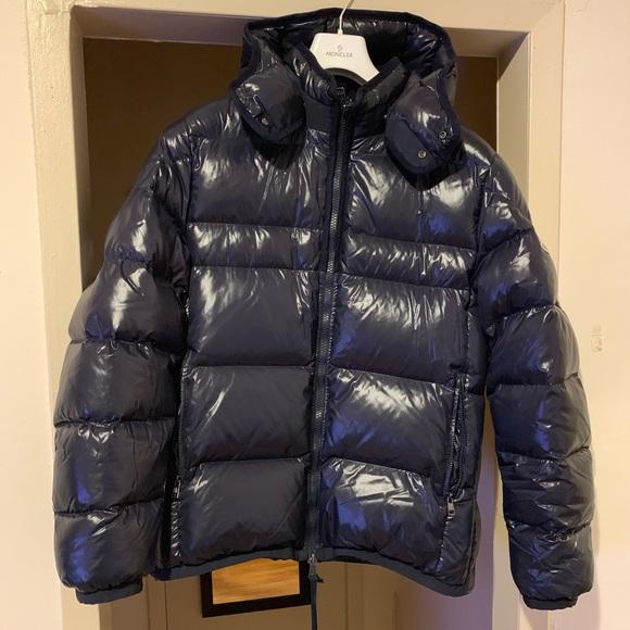 moncler himalaya jacket navy blue